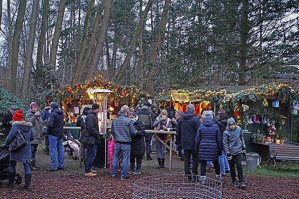 Winterzauber auf der Burgdorfer Wies'n lädt noch am morgigen Sonntag ein